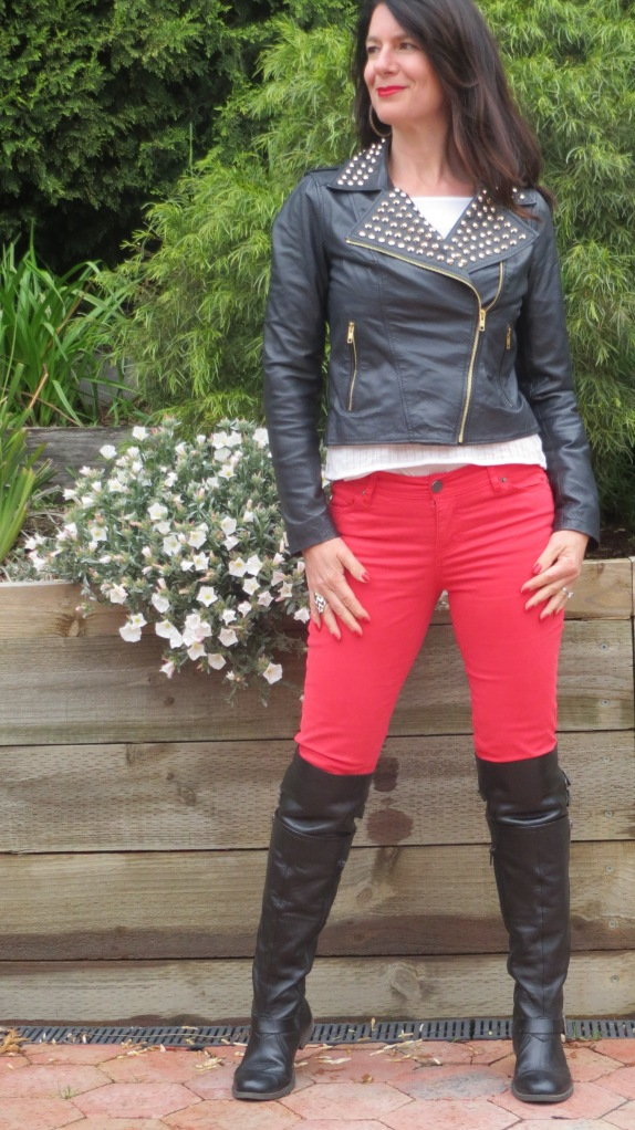 Red jeans 2