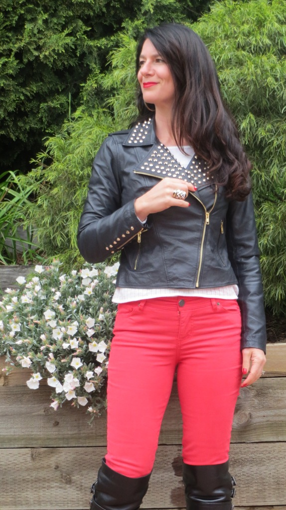 Red jeans 3