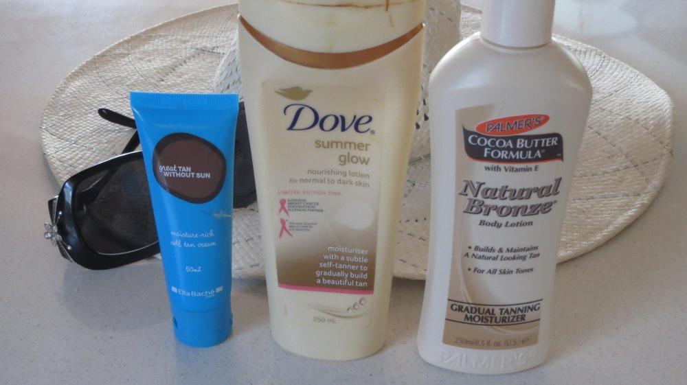 Self tanning creams