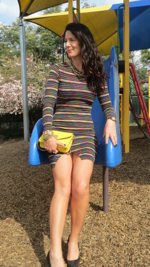Striped dress 1