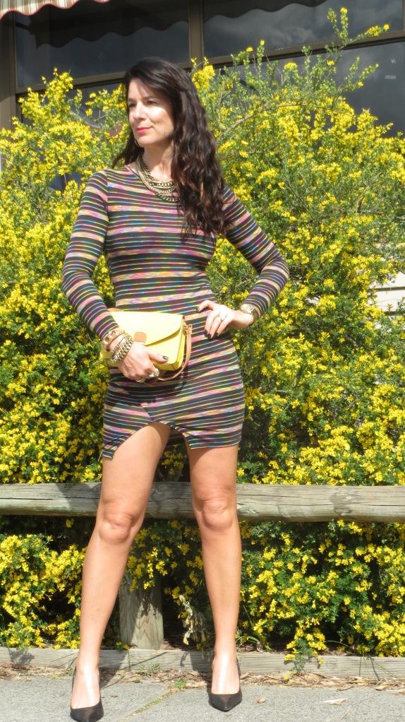 Striped dress 4