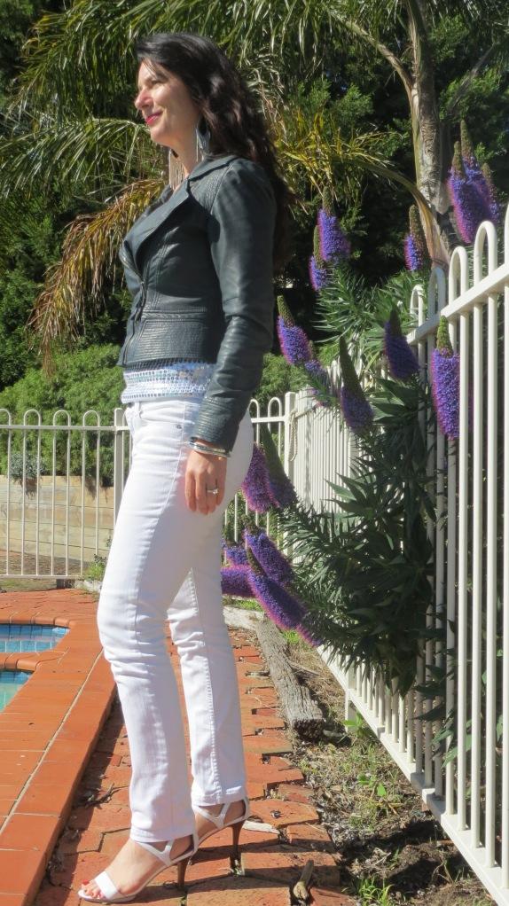 White sequin singlet 5