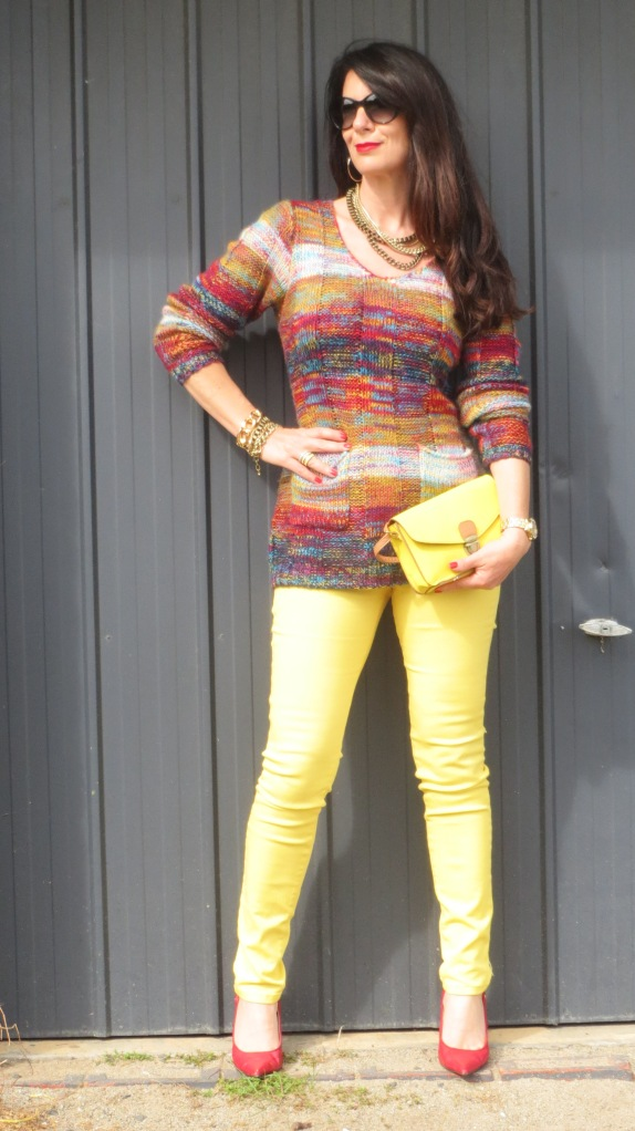 Yellow jeans 3