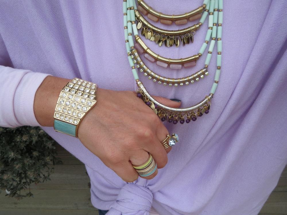 Aqua neckpiece 2