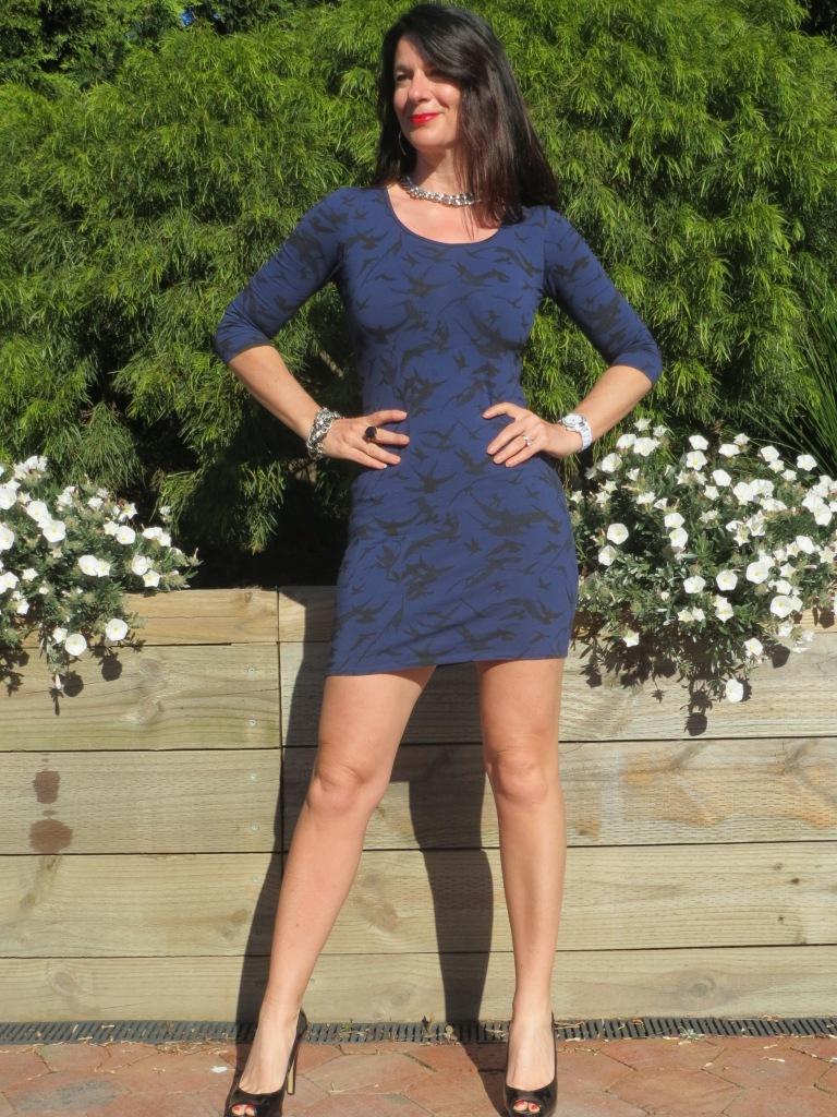 Blue Jay Jays dress 1