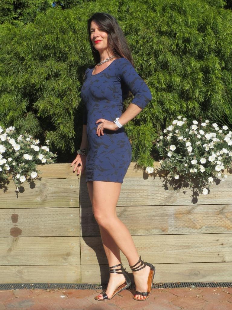 Blue Jay Jays dress 4