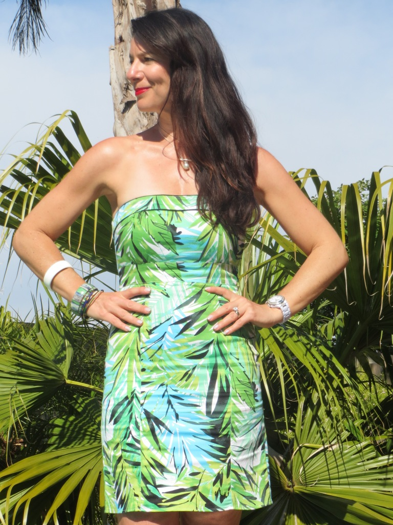 Botanical CM dress 3