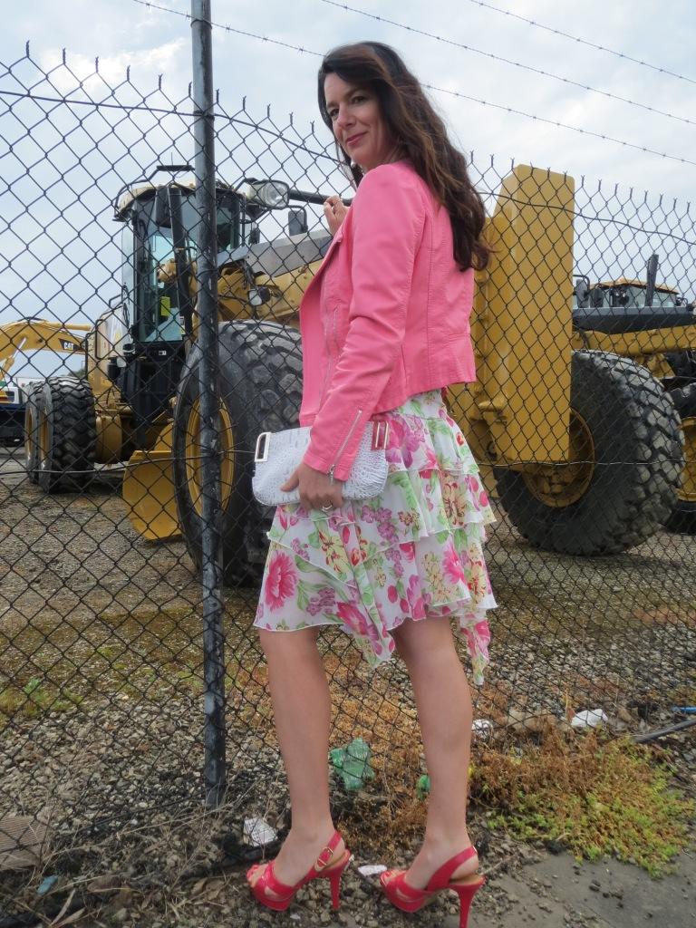Floral ruffle skirt 2