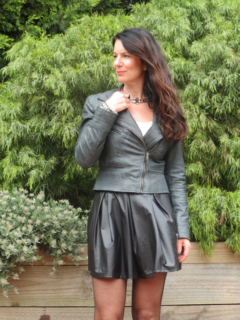 Full leather skirt 1