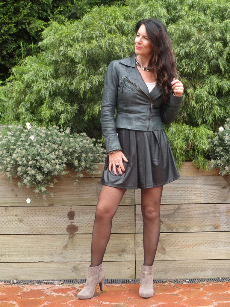 Full leather skirt 2