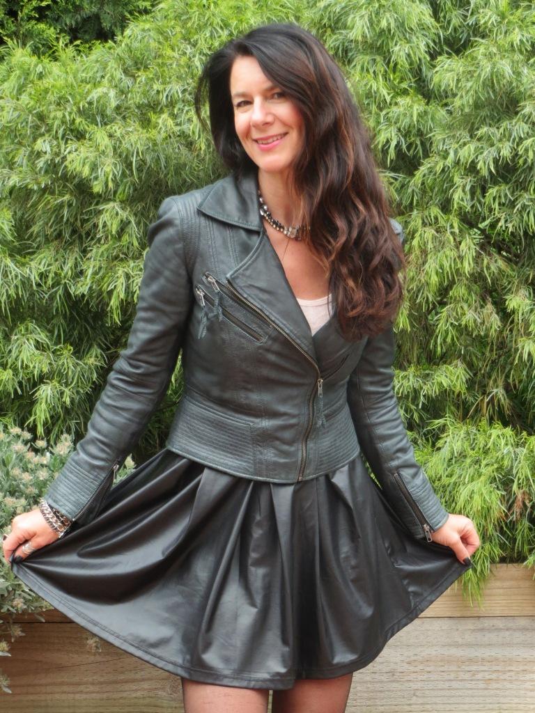Full leather skirt 5