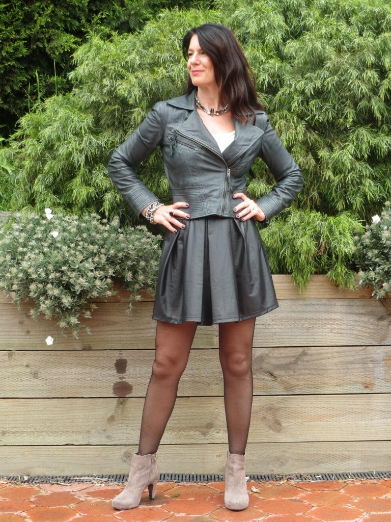 Full leather skirt 6