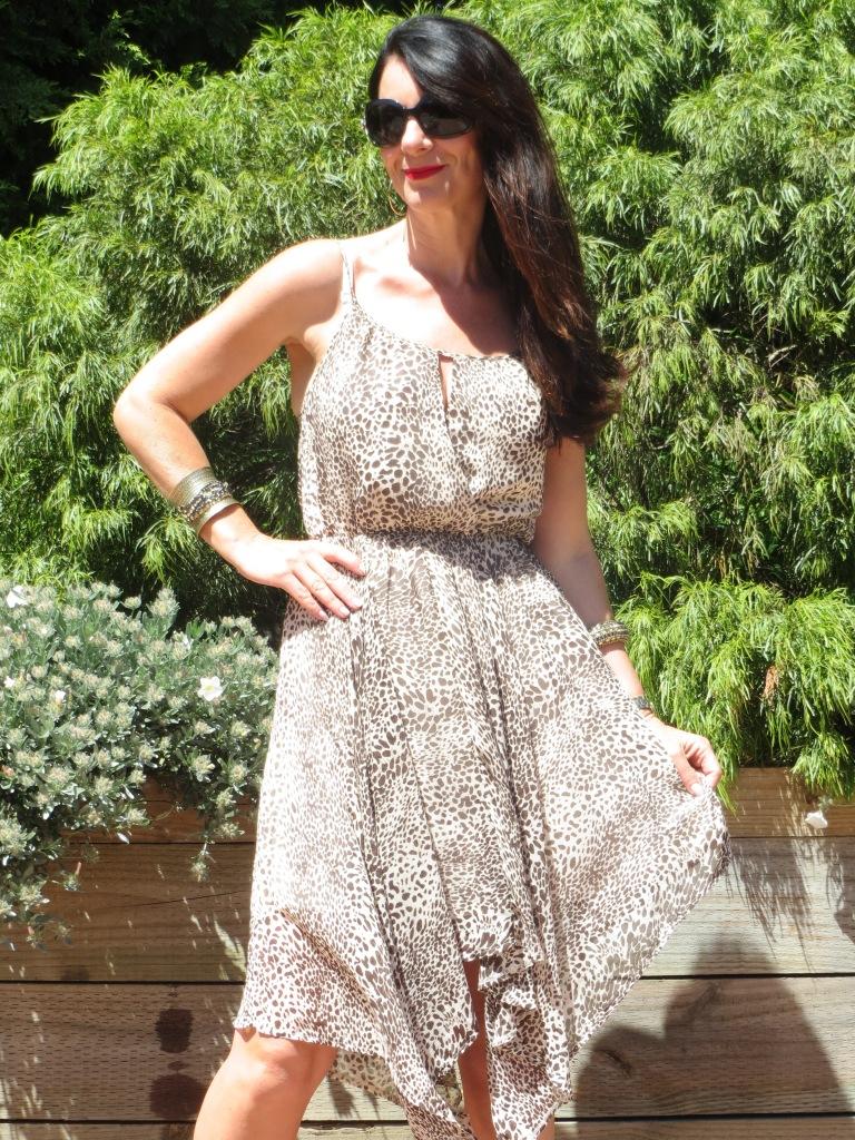 Jeanswest brown spot dress 2