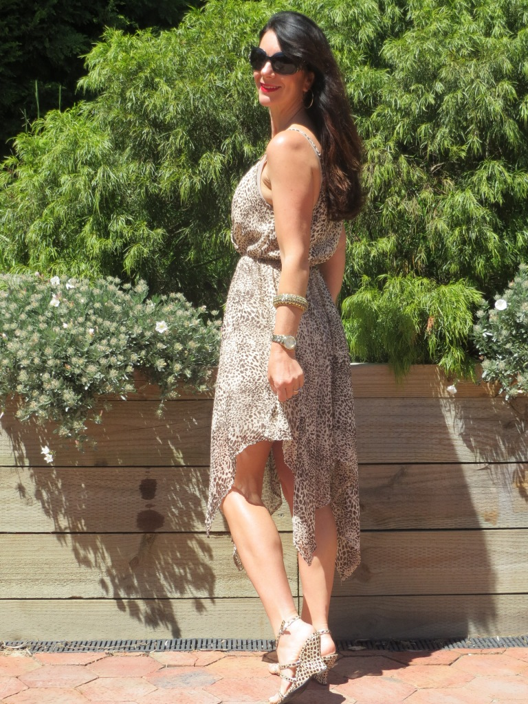 Jeanswest brown spot dress 4