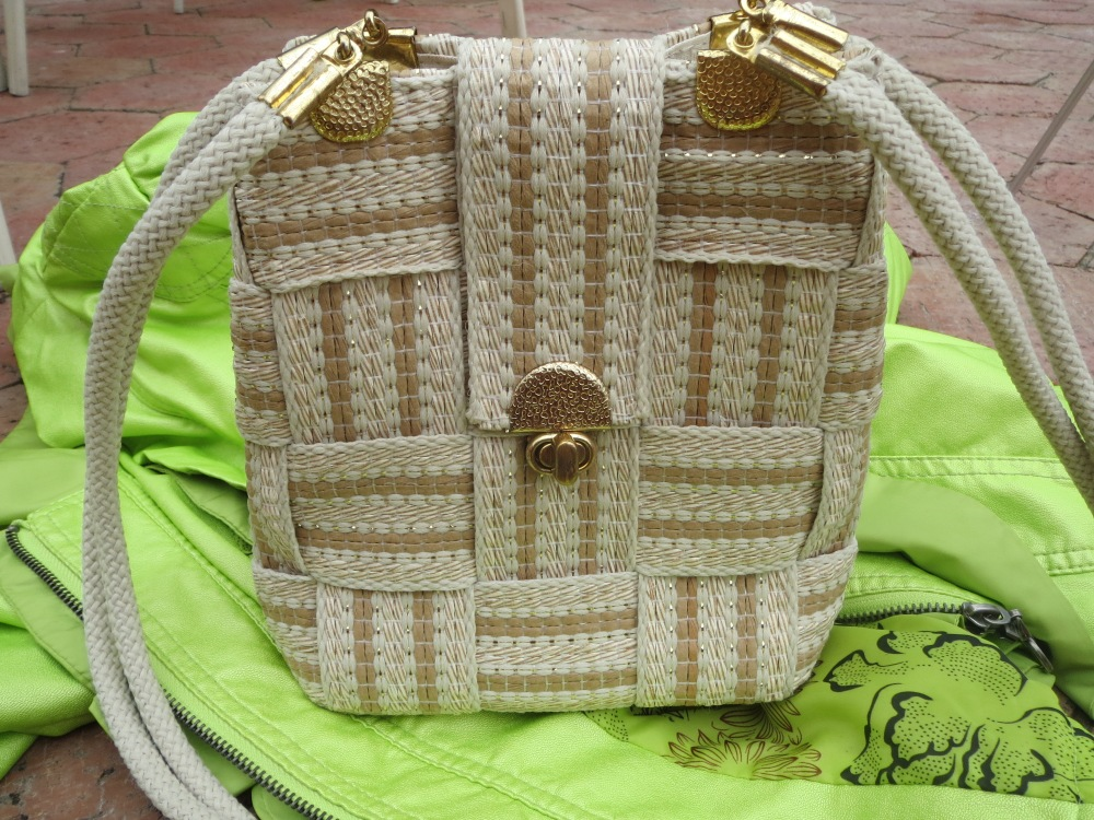 Raffia Italian bag