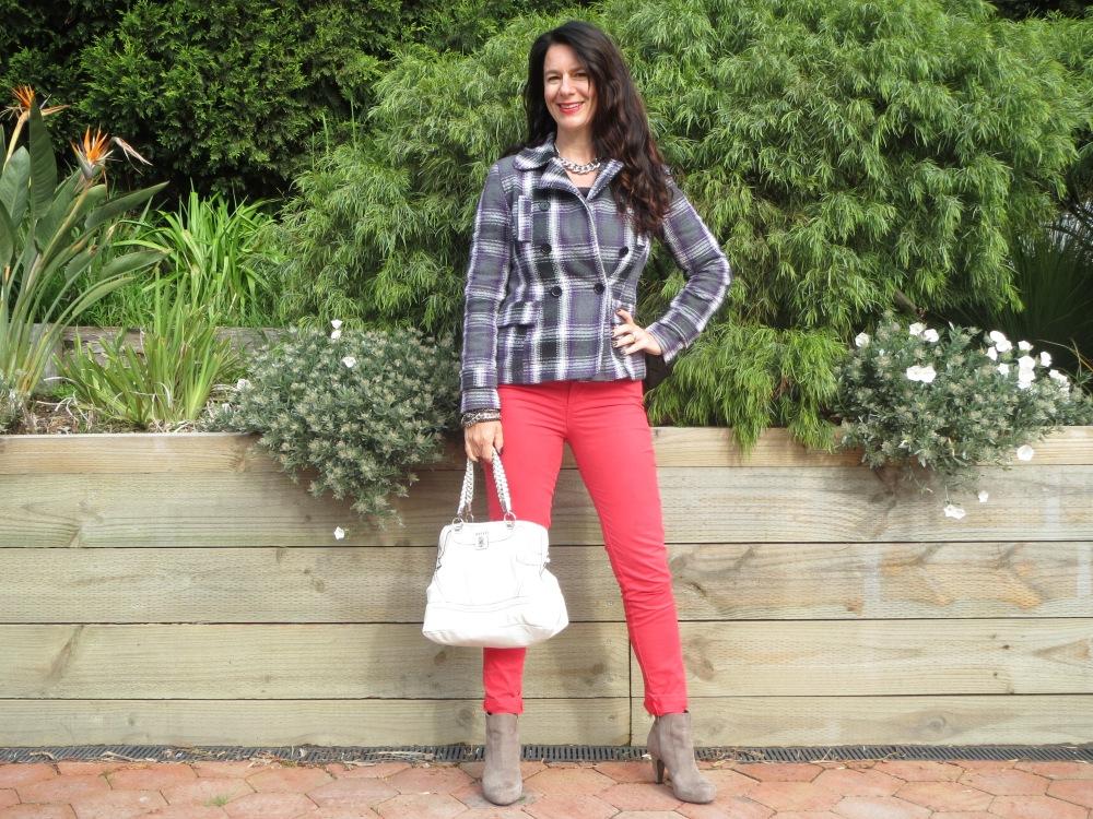 Red jeans slider 1