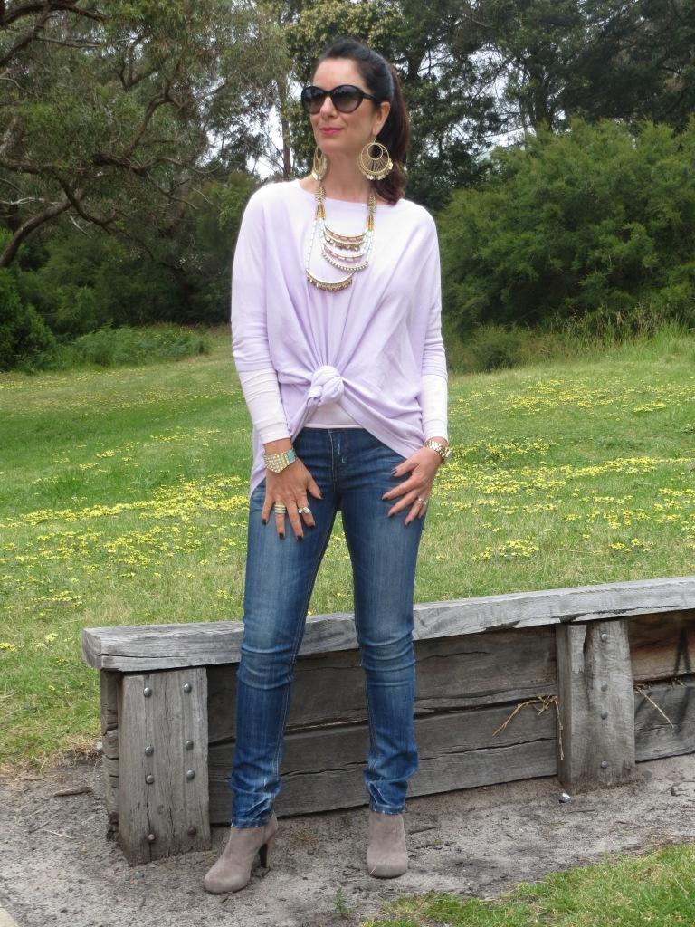 Supre lilac knit 2