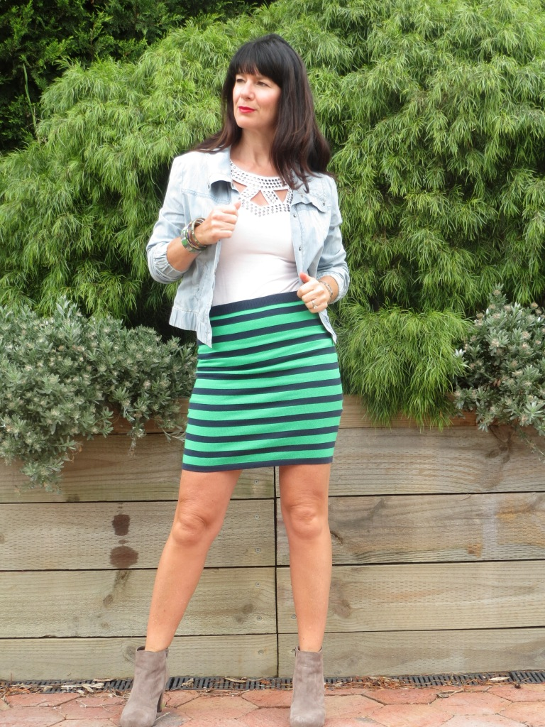 Coles striped skirt 2