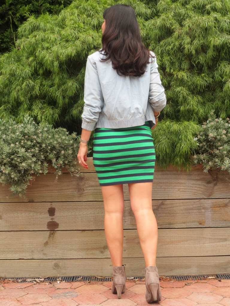 Coles striped skirt 4