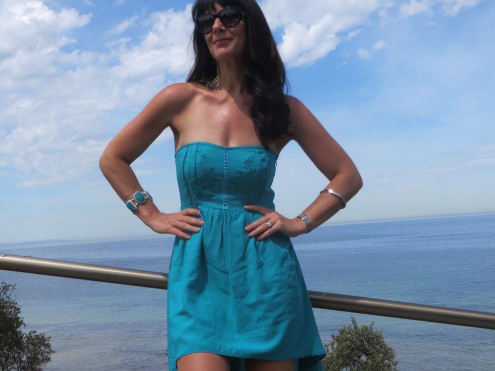 Green Ally dress 3