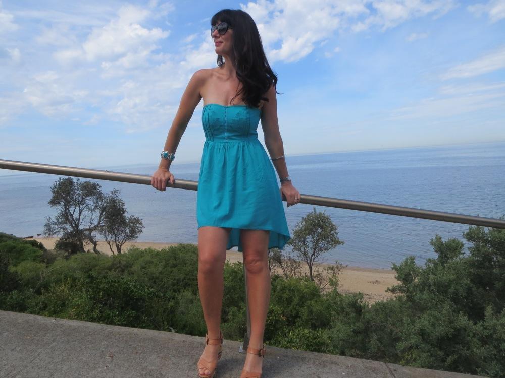 Green Ally dress slider 4