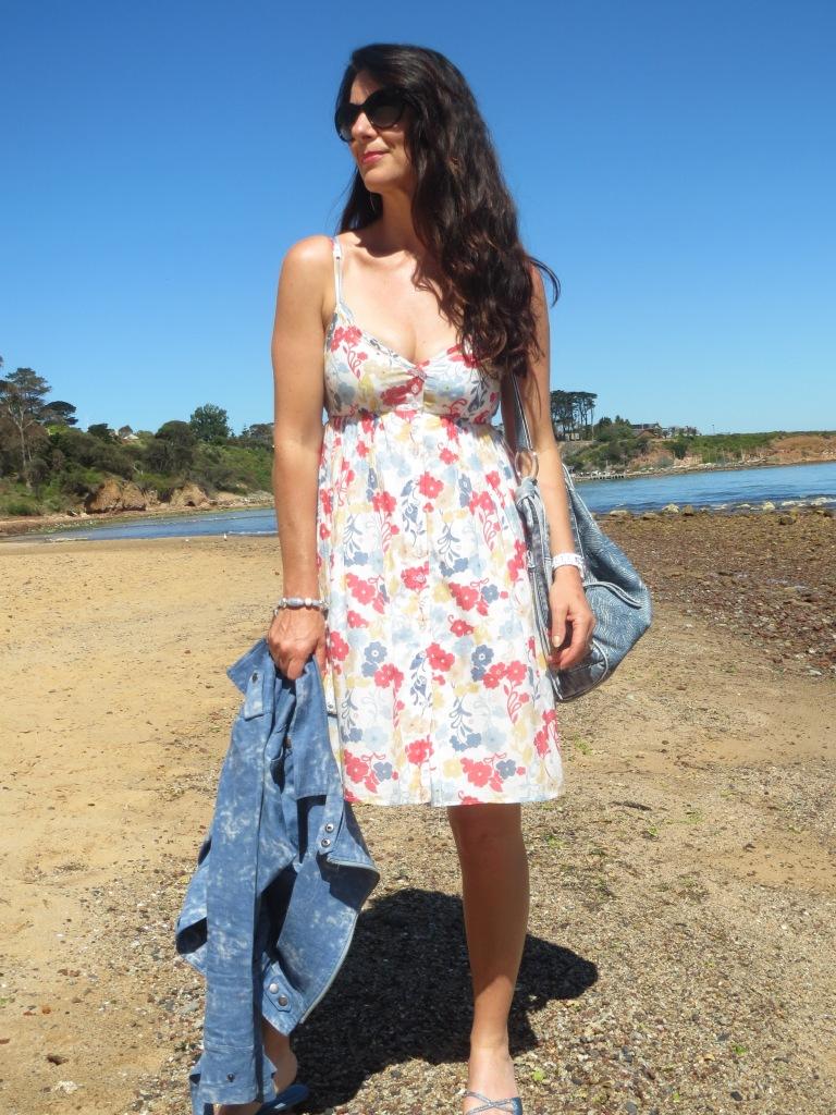 Just Jeans floral dress 1