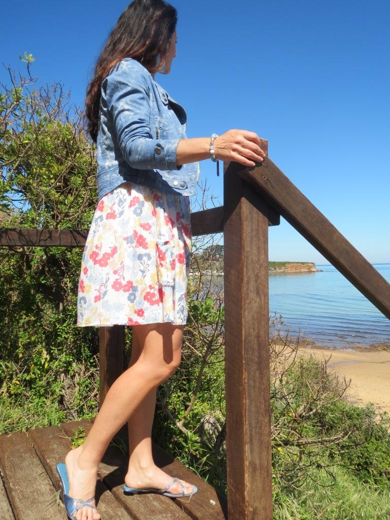 Just Jeans floral dress 5