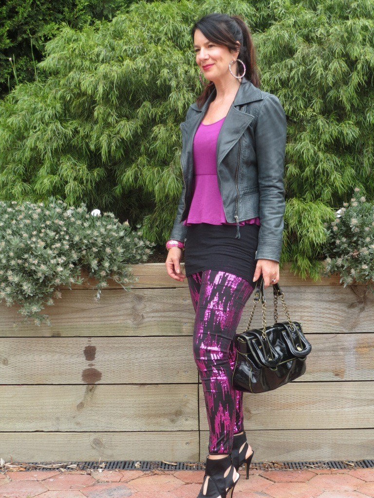 Sequinned pants 2
