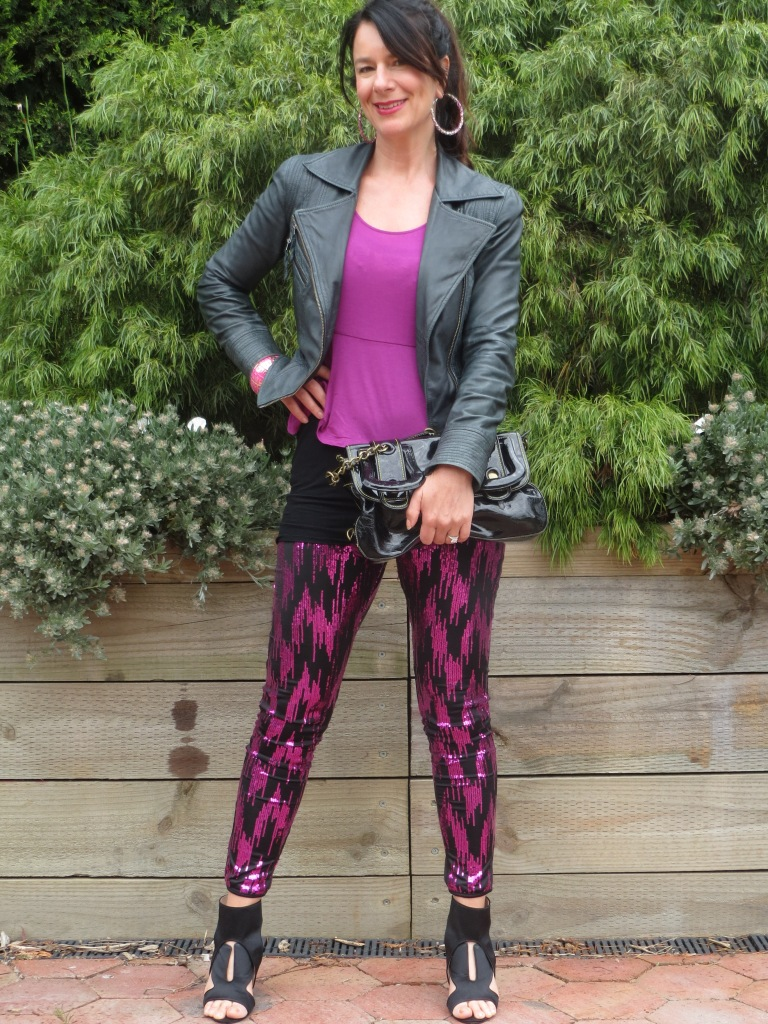Sequinned pants 5