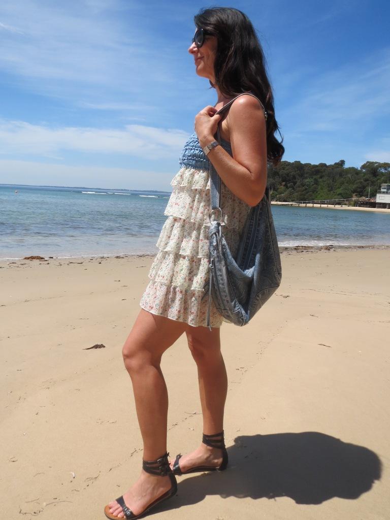 Striking ruffle dress 2