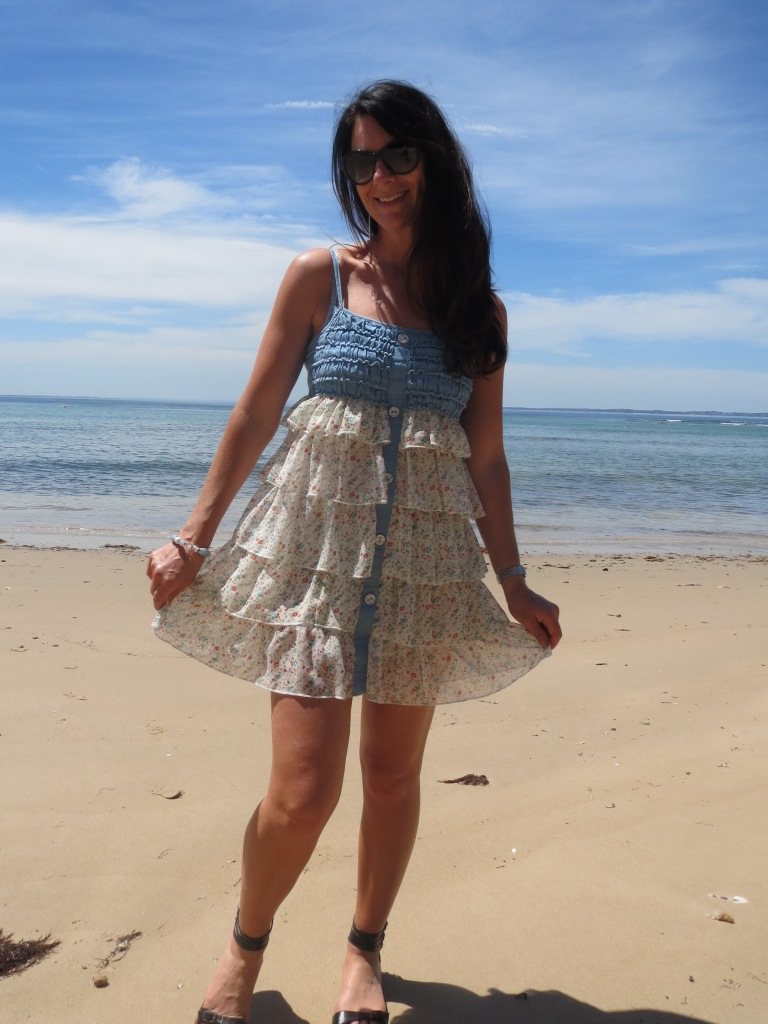 Striking ruffle dress 3