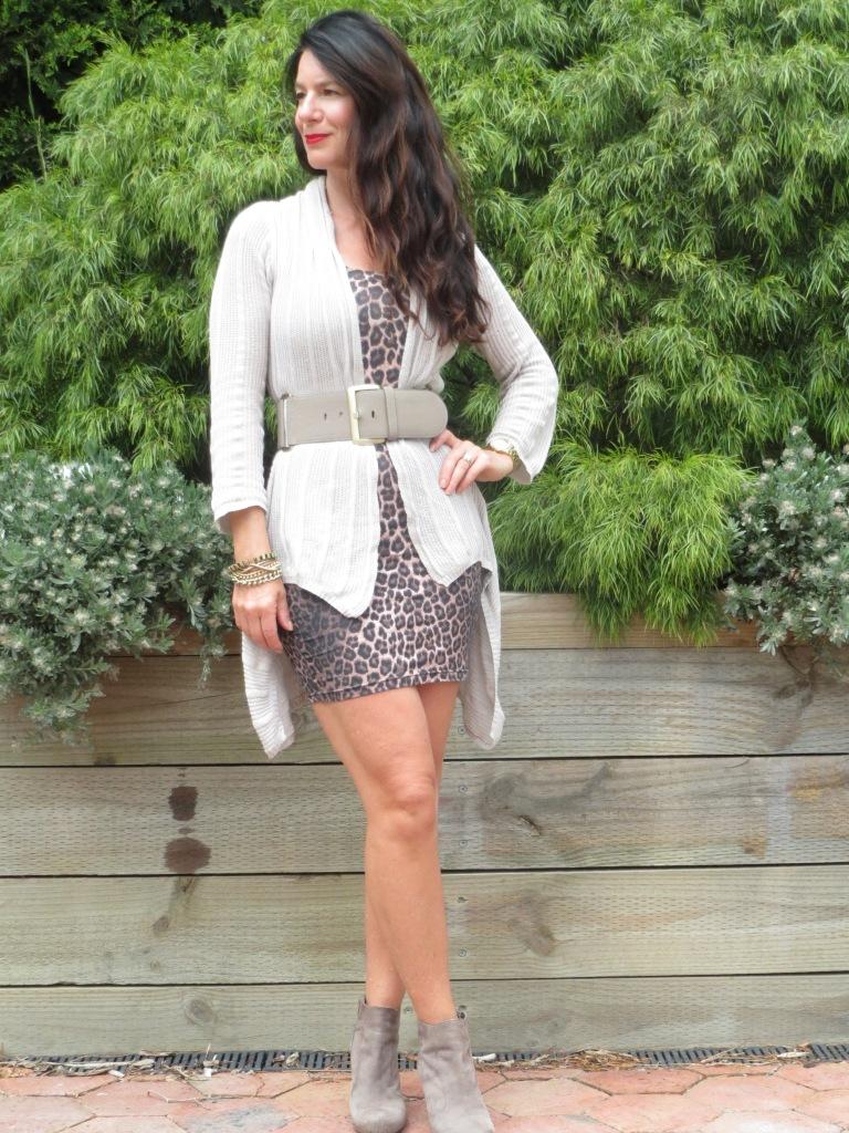 Supre leopard dress 1