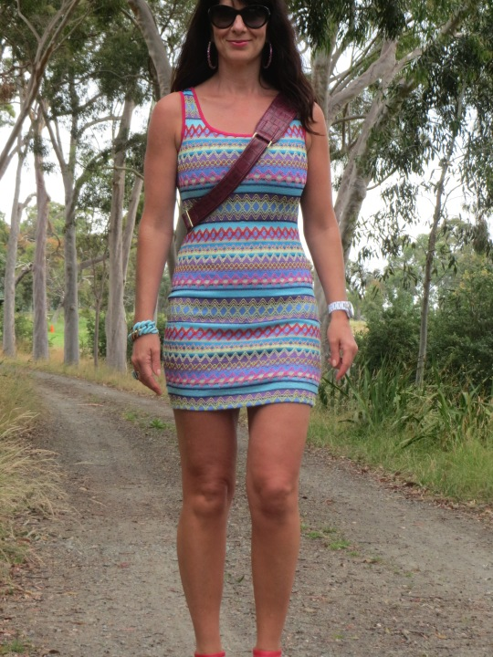 Colourful Valleygirl dress 4