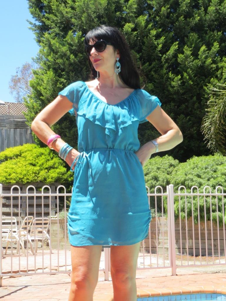 Green Grab dress 5