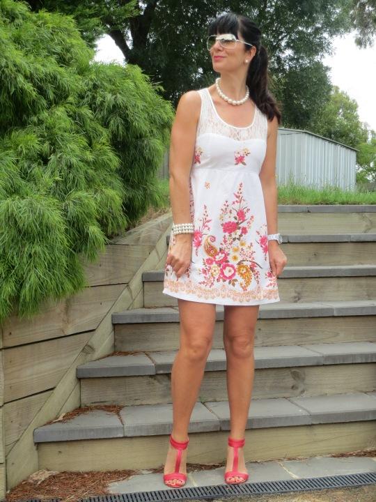 Lace floral dress 2