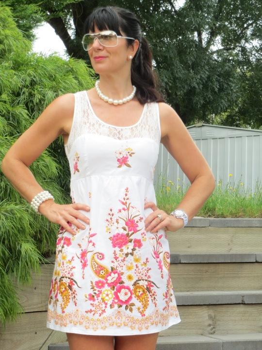 Lace floral dress 6
