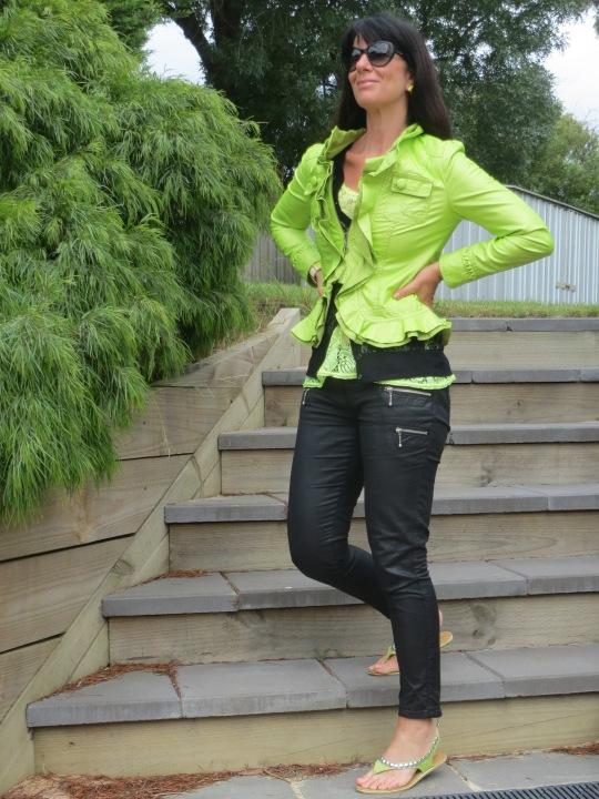 Neon green jkt 2