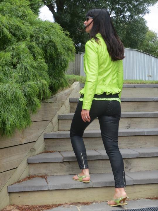 Neon green jkt 3