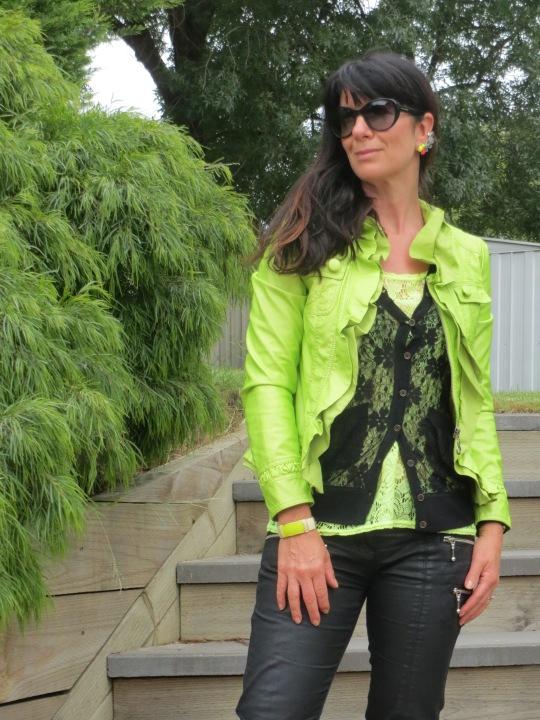 Neon green jkt 5