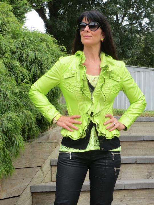 Neon green jkt 6